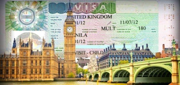 Документы для получения визы в Великобританию